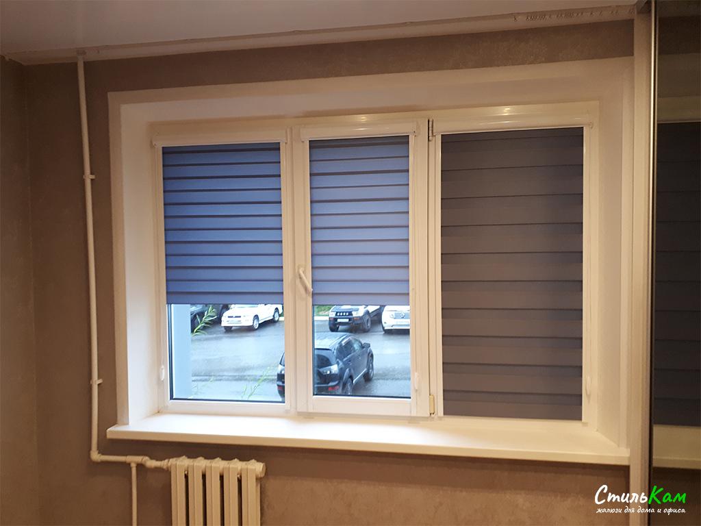 шторы день-ночь на окно в детскую комнату