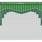 модель мультифактурных жалюзи 15