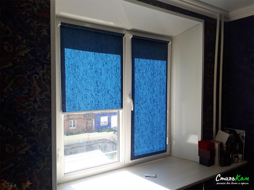 рулонные шторы мини на окна
