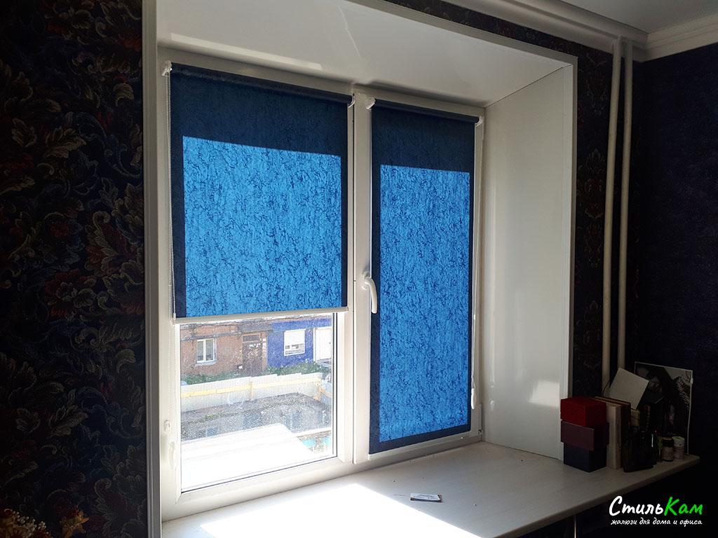 рулонные шторы мини на пластиковые окна