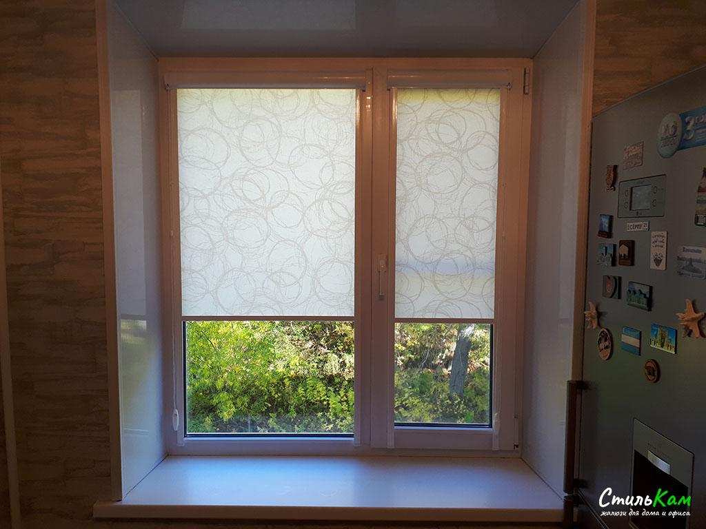рулонные шторы uni на окна
